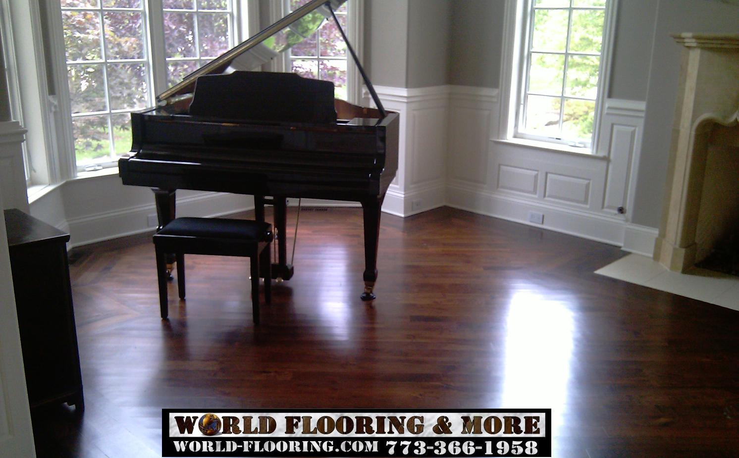Hardwood Floor Installation Repasir Staining Sanding Refinishing World Flooring More 773 366 1958