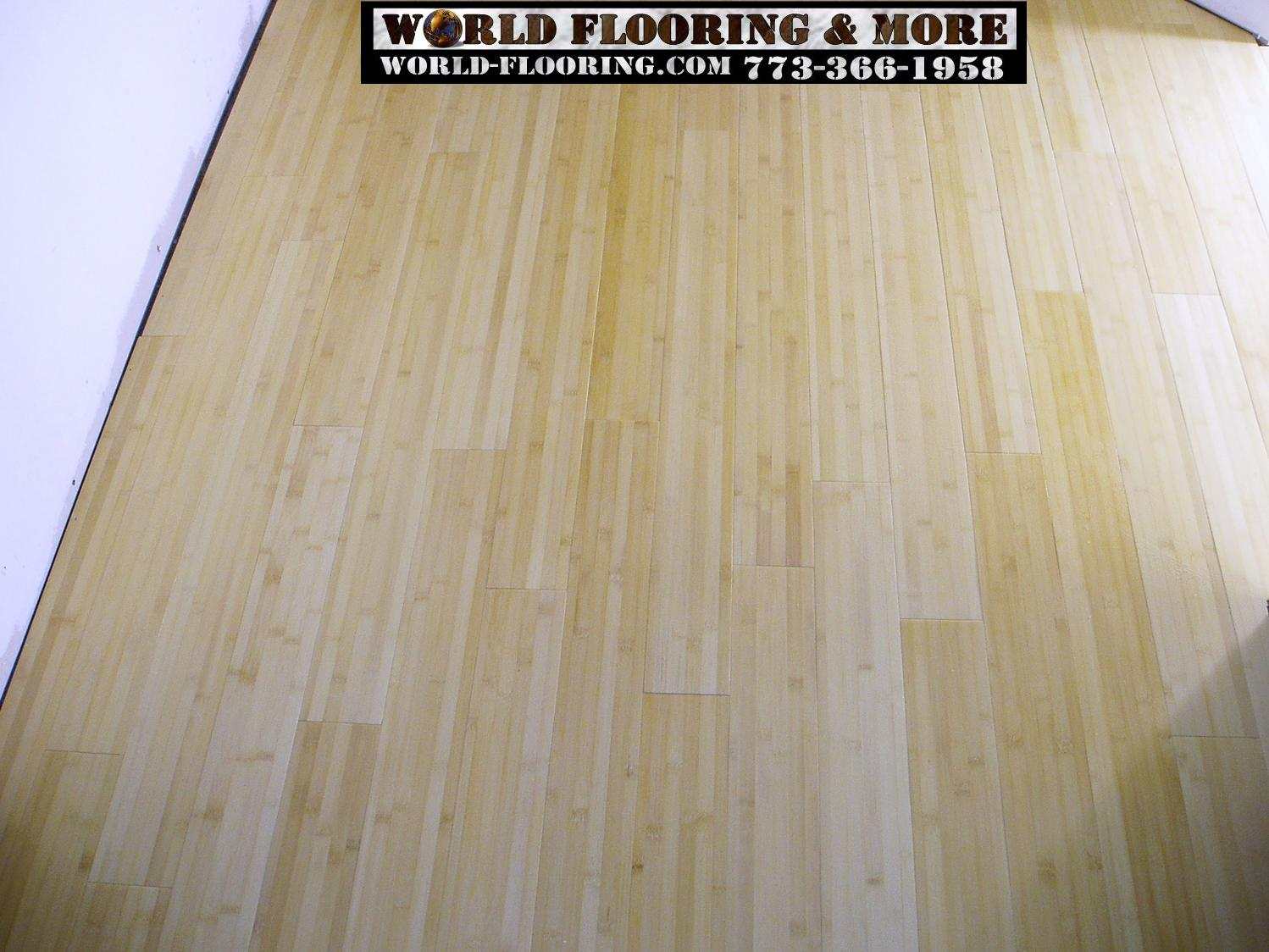 Bamboo floor prefinished engineered and laminate flooring