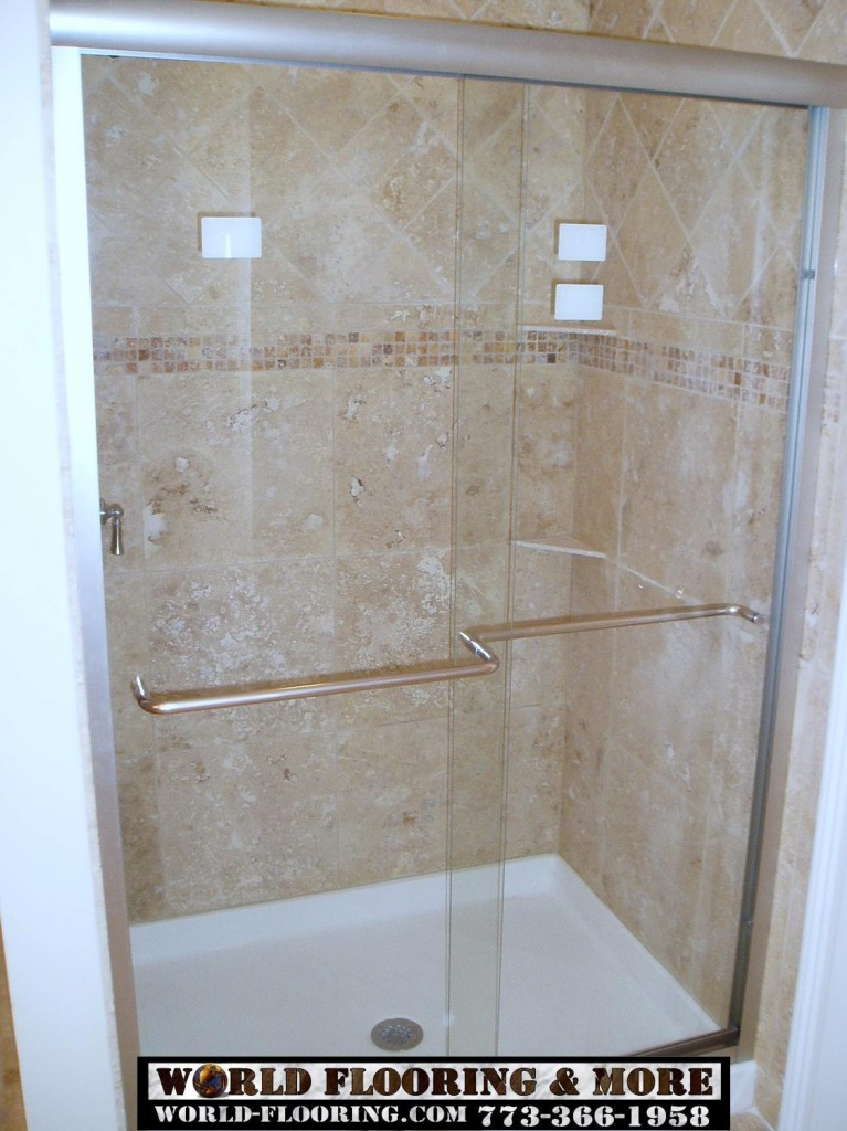 custom cultured marble Shower Bathroom Remodeling World Flooring & More 773-366-1958 Chicago Suburbs