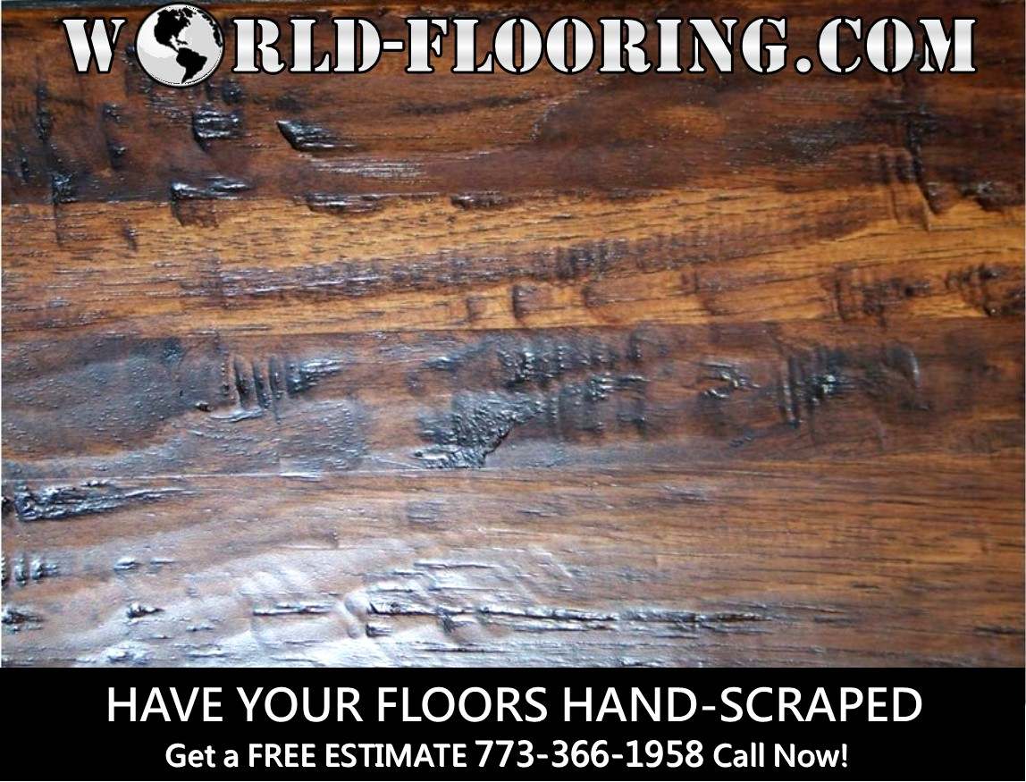 Have your wood floors hand scraped at an affordable price in Chicago ...