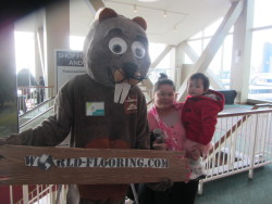 Cute mascot makes The Home Expo fun