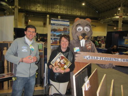 World Flooring and More Co with mascot