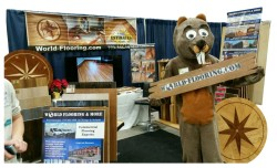 World Flooring & More Co Beaver mascot