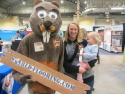 World Flooring brings joy to the family with mascot
