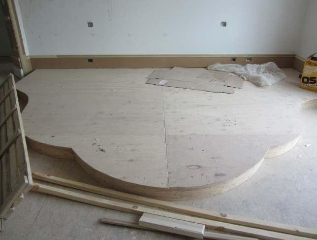Raised Platform Flooring